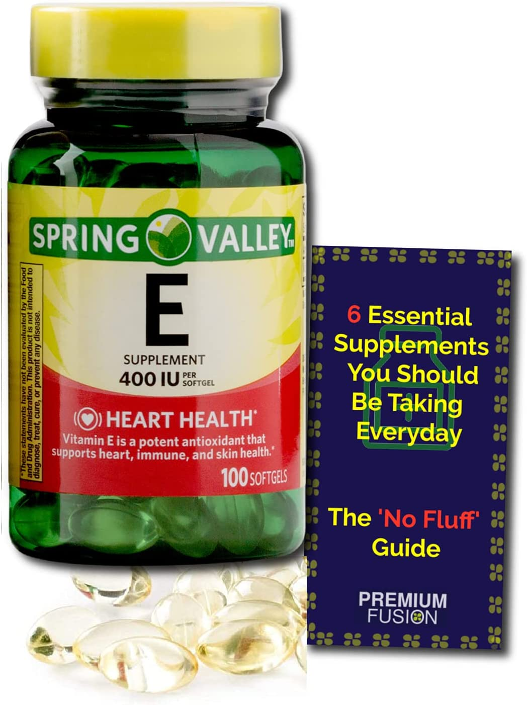 Vitamin E Softgels 400 iu 180 mg Months Count Same day shipping Popular standard - Over 100 3+