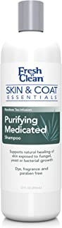 PetAg Fresh 'n Clean Skin & Coat Essentials Purifying Medicated Shampoo, 12 oz