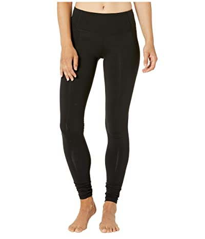 Bloch Daleana Suprima Mid-Rise Leggings (Black) Women