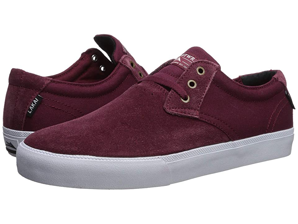 Lakai Daly (Burgundy Suede) Men