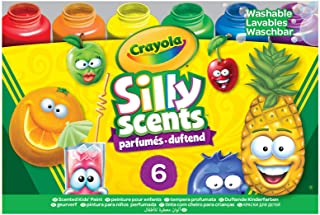 Crayola Silly Scents Washable Kids Paint, Multi-Colour, Cy54-2392