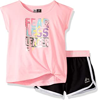 Girls' Active Top and Short Set