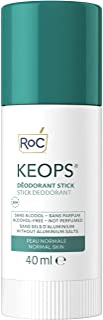 RoC - KEOPS Desodorante en Barra - Antitranspirante - Eficacia 24 horas - Libre de Alcohol, Fragancia y Sales de Aluminio...