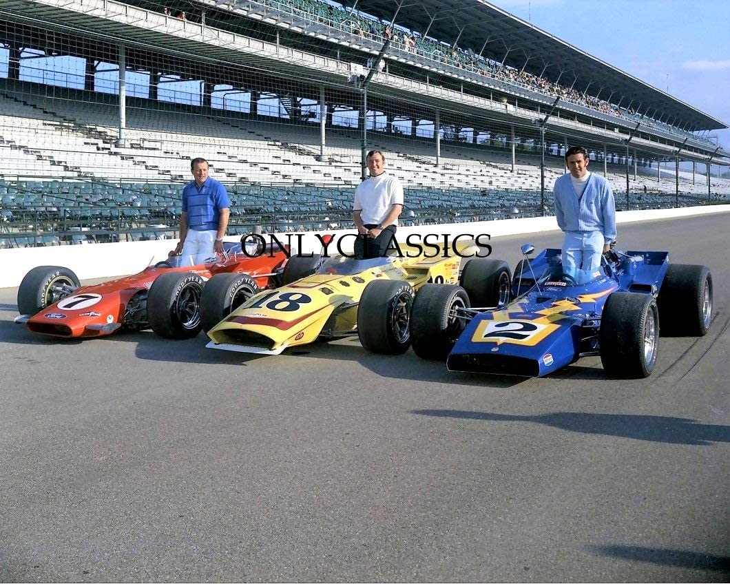 OnlyClassics 1970 Indy Import 500 AJ Foyt Rutherford Johnny Unser 8x Al specialty shop