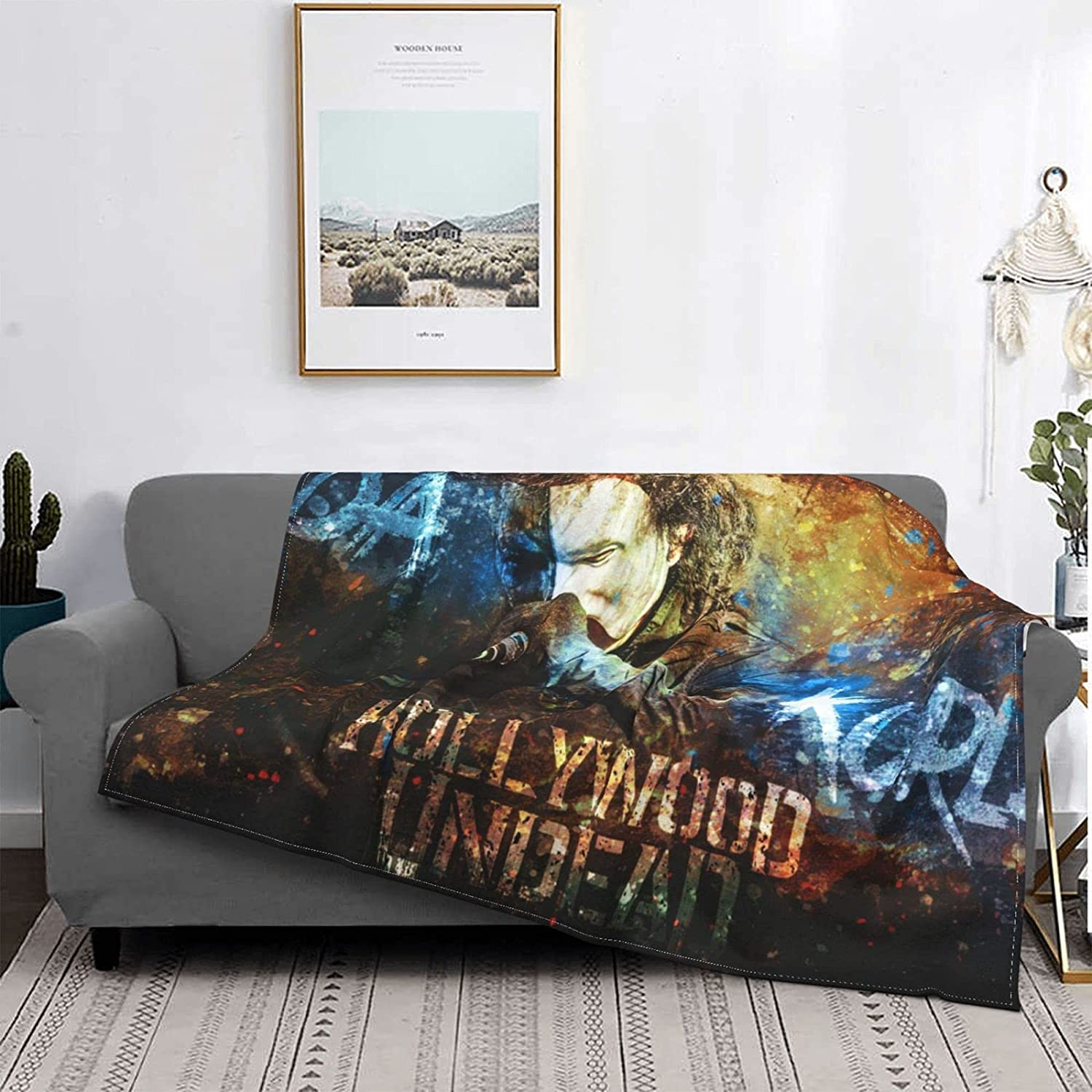 Hollywood Undead Fleece Blanket Some reservation Lightweight Blan Super Cozy Inexpensive Soft