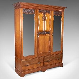 Armoire antique, Anglais, Noyer, Banach-mazur, R. James Gloucester, Circa 1900