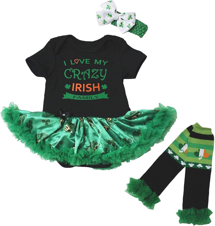 Petitebella I Love My Indefinitely Crazy Irish Leg Warmer Baby Classic N Family Dress
