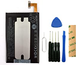 for Verizon HTC One M8 Replacement Battery B0P6B100 Free Adhesive Tool