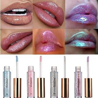 Kisshine Liquid Lipstick Moisturized Lipgloss Party Shimmery Lipglaze Long Lasting Shiny Lips Cosmetics Makeup Gift for Wo...