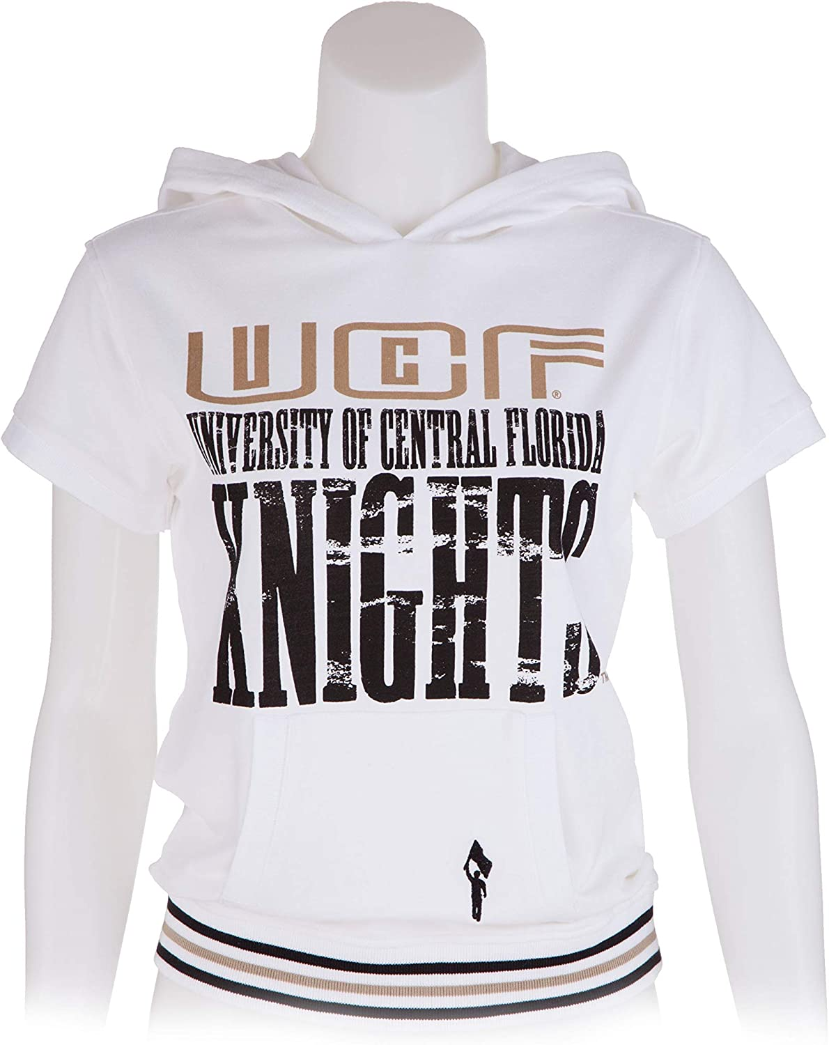 Flying colors Junior Cut University Central Florida Cap Sleeve Hoodie