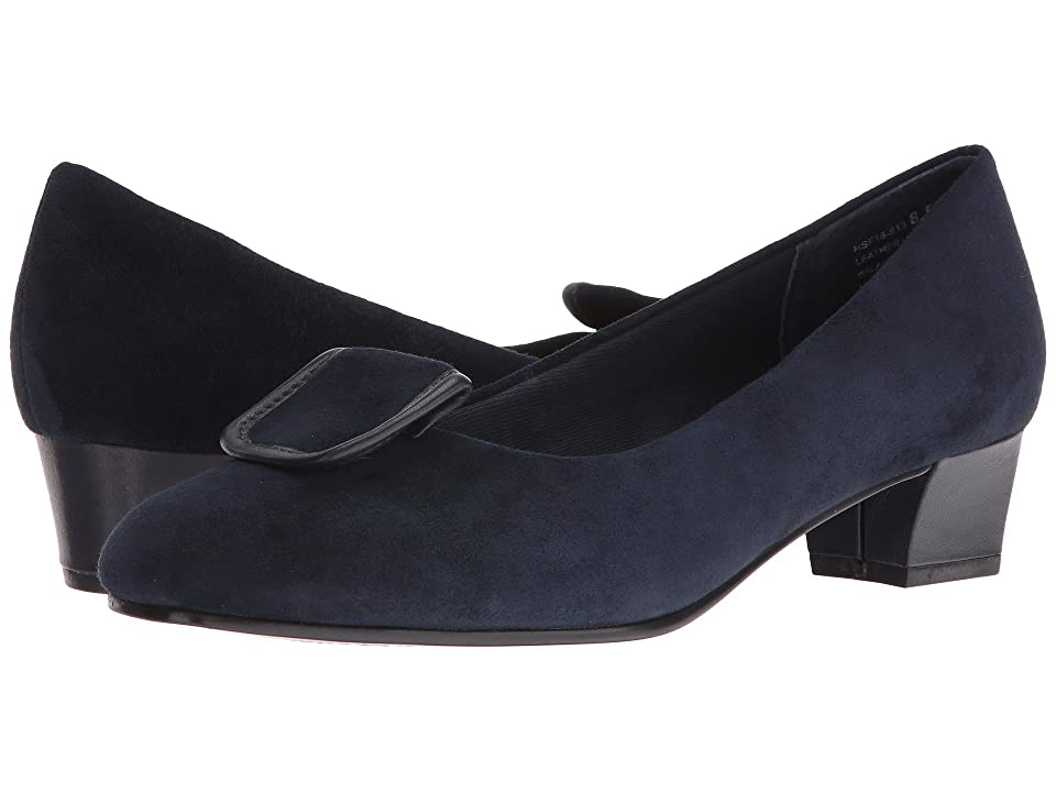 David Tate Ariana (Navy Suede) Women