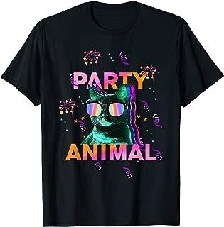 cat party t shirt