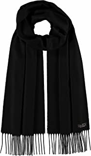 FRAAS Cashmink Scarf for Men and Women – Softer than Cashmere – Made in Germany – XXL Scarf for Winter – Fringe Scarf in Plain Colours