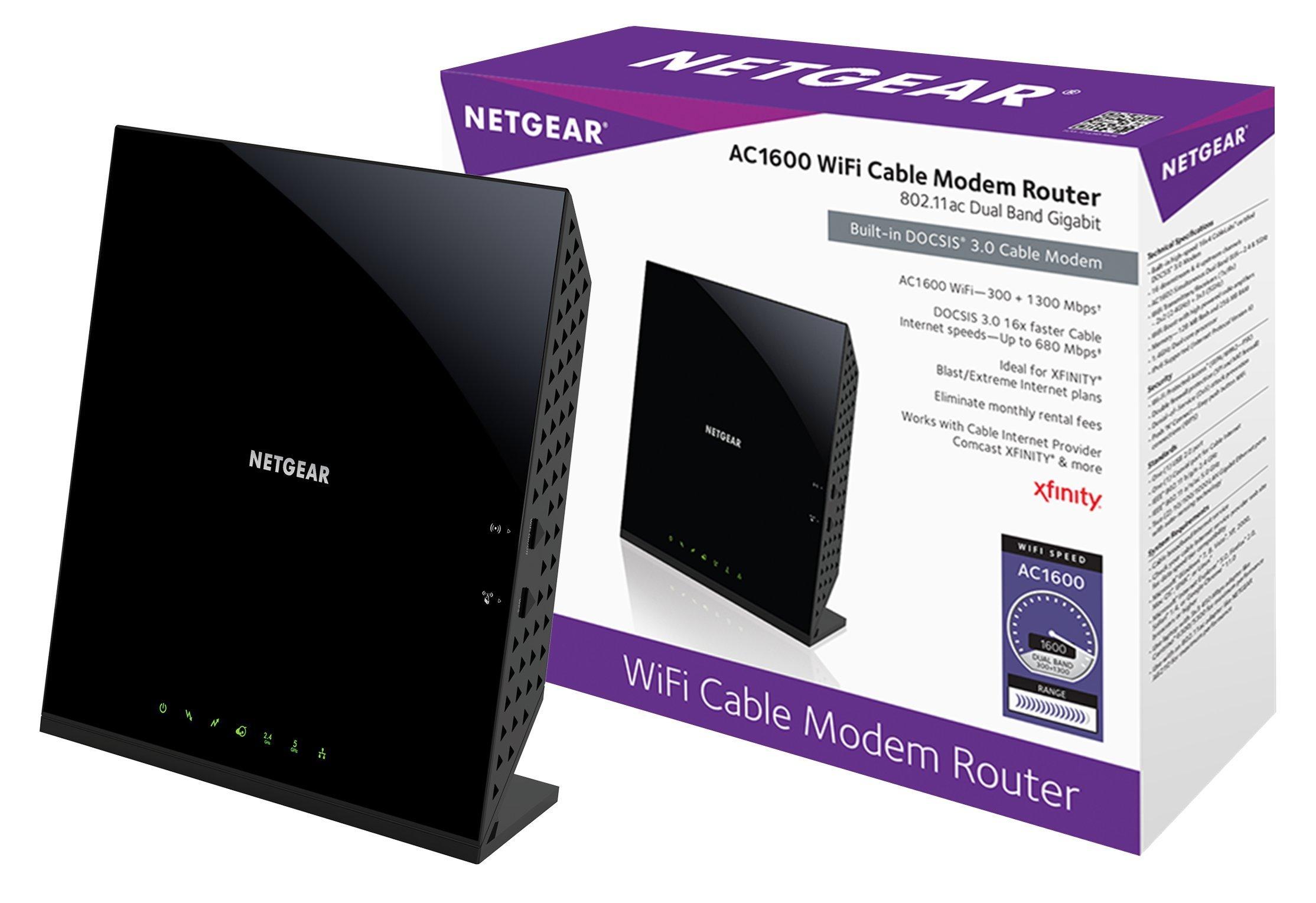 Netgear C6250 100NAS Certified Xfinity Comcast