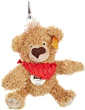 Steiff 11cm Knopf Teddy Bear Keyring (Golden Brown)