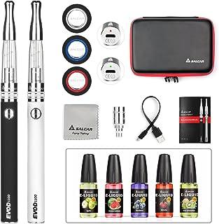 Salcar® Cigarrillo electrónico EVOD CE8 con doble kit de iniciación, batería recargable de 1100mAh