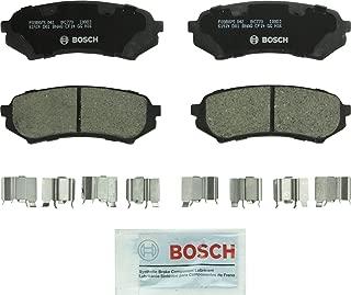 Bosch BC773 QuietCast Premium Ceramic Disc Brake Pad Set For 1998-2007 Lexus LX470 and 1998-2007 Toyota Land Cruiser; Rear