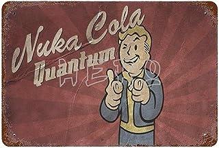 Fallo-ut Zap That Thirst Nuka Cola Quantum Atomic Bomb Drink Art Tin Sign 30*40cm vintage home accessories displate tin si...