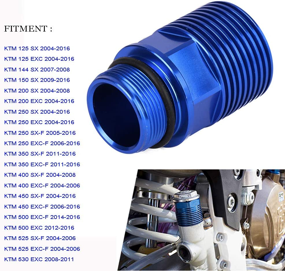 Jfg Racing Cnc Cooling Extension For Rear Brake Ktm 125 530 Sx Sx F Xc Xc W Exc Exc F 2004 2016 54813960050 Blue Auto