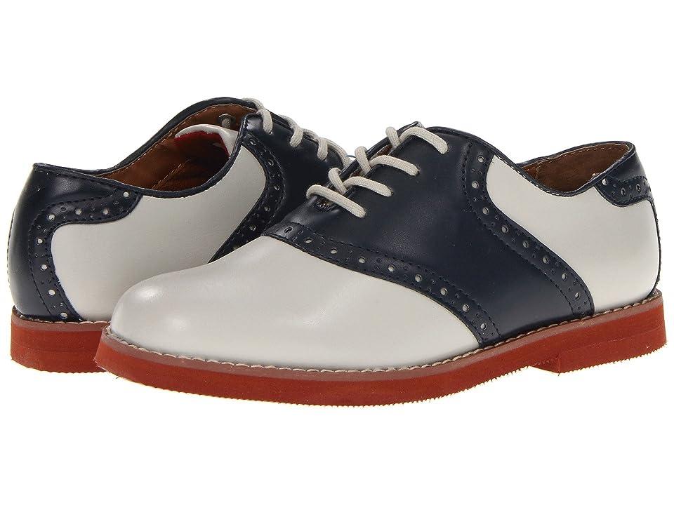Florsheim Kids Kennett Jr. (Toddler/Little Kid/Big Kid) (Bone/Navy) Boys Shoes