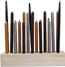 "Lido Luxe Paulownia Wood Candleholder (Regular (18""))"