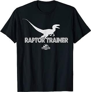 Jurassic World Raptor Trainer Silhouette Graphic T-Shirt