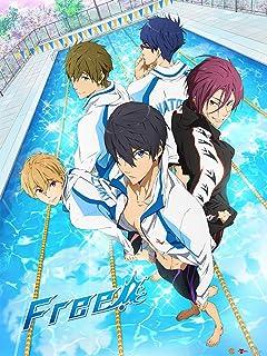 Free! Iwatobi Swim Club 3D Lenticular Wall Art Poster