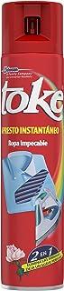 Toke Apresto Instantáneo - Aerosol para el planchado fácil de la ropa, elimina las arrugas y perfuma, formato 500 ml