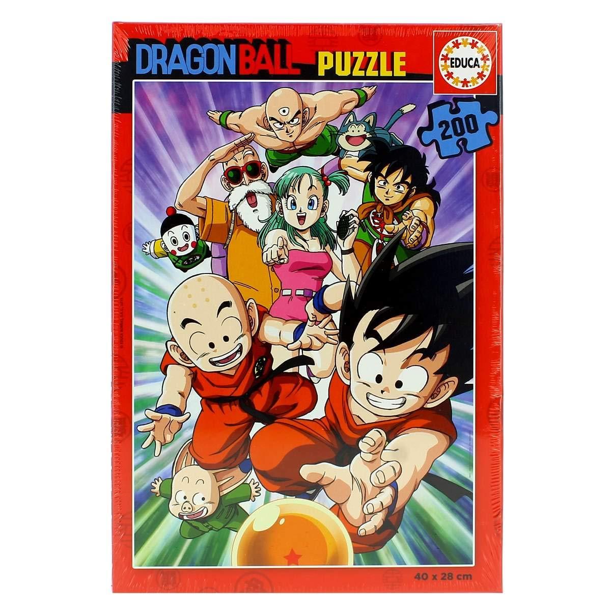Educa Dragon Ball Puzzle Infantil de 200 Piezas, a Partir de 6 años (18215): Amazon.es: Juguetes y juegos