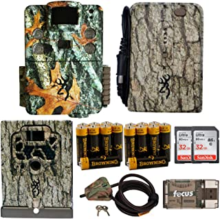 Strike Force HD Apex 18MP Game Cam with Full Field Kit (Security Box and Cable Lock, Power Pack and Batteries, Cards and Focus Reader)