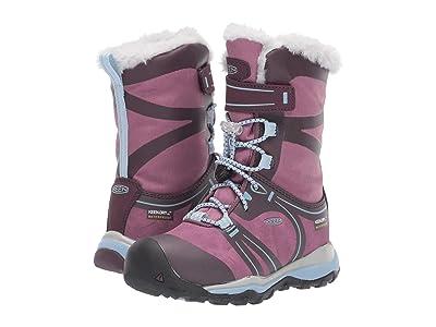 Keen Kids Terradora Winter WP (Toddler/Little Kid) (Winetasting/Tulipwood) Girls Shoes