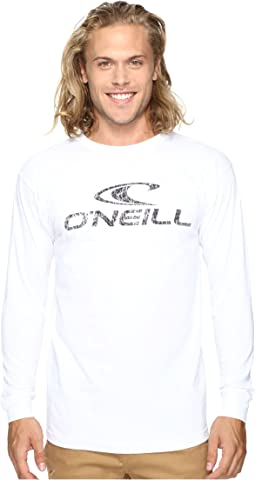 O'Neill - Supreme Long Sleeve Screens Impression T-Shirt