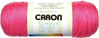 Bulk Buy: Caron Simply Soft Brites Yarn (3-Pack) Watermelon H9700B-9604