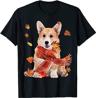 Cute Corgi Dog Autumn Thanksgiving Gifts T-Shirt