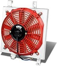 For Acura Integra MT Aluminum Bolt-on Cooling Radiator Fan Shroud (Red) - DA9 DB1 DB2