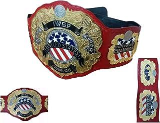 IWGP United States Champion Belt Iwgp Wrestling Championship Wrestling Title Replica Belt