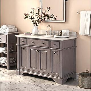 Lanza Casanova WF6956-48 48 in. Single Bathroom Vanity Set