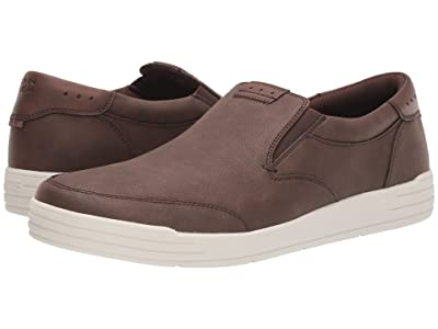 Nunn Bush Kore City Walk Moc Toe Slip-On (Brown) Men