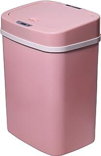 TOO STC-12 - Cubo de basura con sensor de movimiento, cubo de basura automático con 12 l, con sensor de infrarrojos, varios colores, Rosado