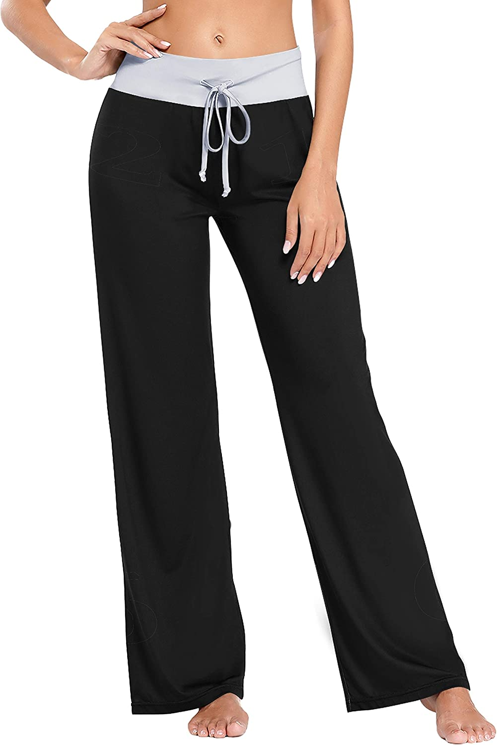 AQQA Holiday Pajama Pants for Women OFFicial store Clock Bottoms Pajam Animer and price revision Out Face