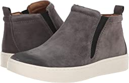 Steel Grey Cow Suede