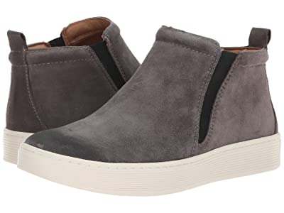 Sofft Britton II Waterproof (Steel Grey Cow Suede) Women