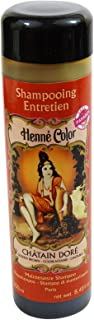 SITARAMA Henné Color - Henna Maintenance Shampoo - GOLDEN BROWN - For frequent use and specially adapted to coloured hair