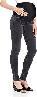 Women's Twiggy External Maternity Band Legging Jean in Slate Ii