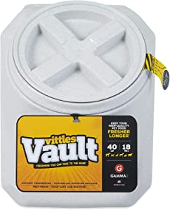Gamma2 Vittles Vault Stackable Airtight Pet Food Storage Container