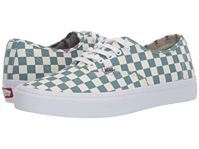 Vans Authentictm Pro ((Checkerboard) Smoke Blue) Skate Shoes