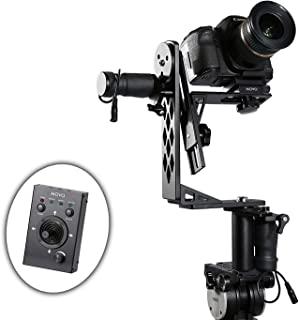 Movo Photo MGB-5 Aluminum Motorized 360° Pan and Tilt Gimbal Head for Tripods and Jibs - Supports Cameras up to 11 LBS