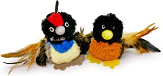 Pet Craft Supply Co. Batty Bird & Quirky Quail Funny Cuddling Chasing Irresistible Stimulating Soft Plush Boredom Relief I...