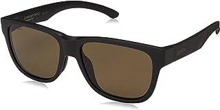 نظارة شمسية لو داون سليم 2 من سميث للرجال، اسود مطفي، مقاس واحد