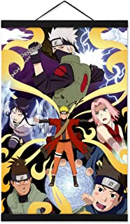31 by 43-Inch Great Eastern Entertainment 5241 Naruto Shippuden Naruto Rasengan Wall Scroll
